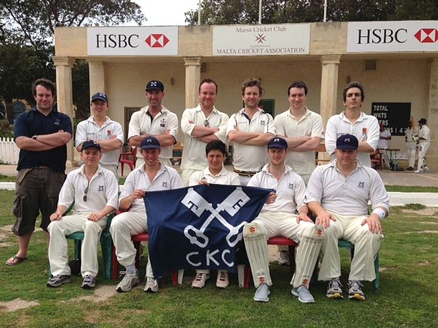 Visiting team Cross Keys CC play Marsa in two-game series