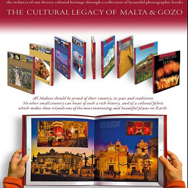 'The Cultural Legacy of Malta & Gozo' new series of books