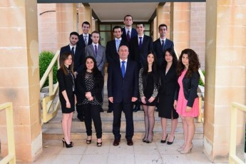 The University of Malta's Dean of Science Awards ceremony