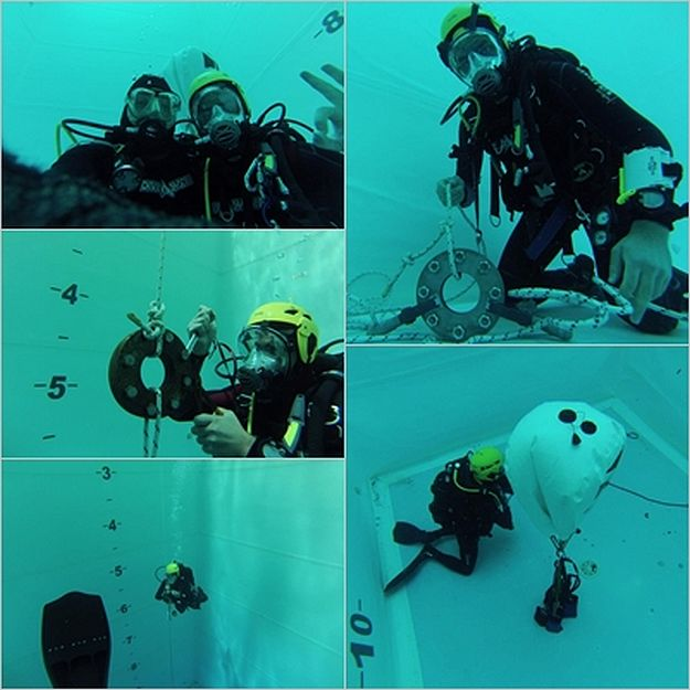 Civil Protection Diving Training in Italy for ERRC volunteer