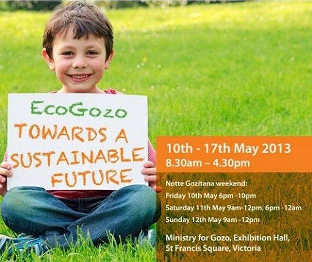 Eco-Gozo Exhibition: 'Towards a sustainable future'