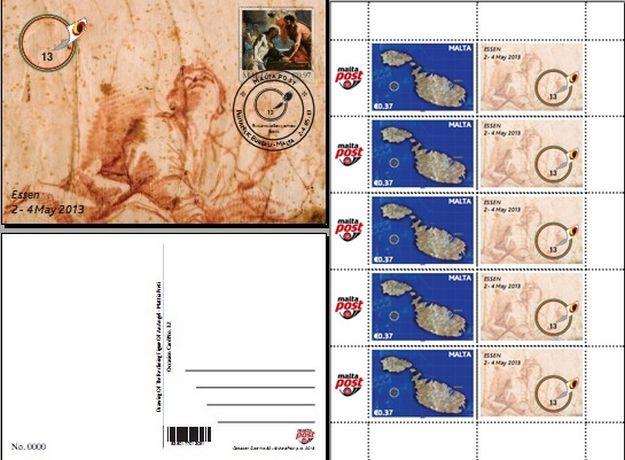 MaltaPost to participate in the Essen Stamp Fair 2013