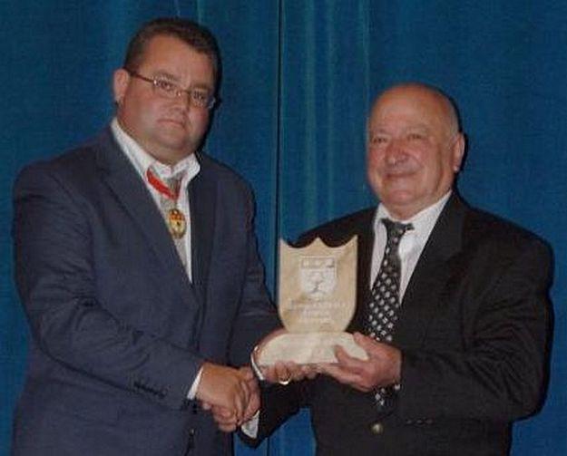 Zebbug Day 2013 - Carmelo Cini awarded 'Gieh iz-Zebbug'