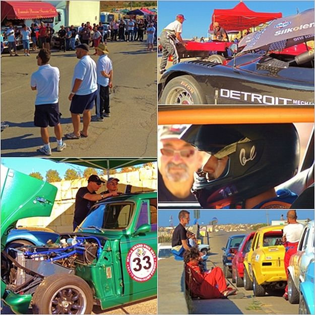 Sunday's hillclimb event in Xaghra with the Island Car Club