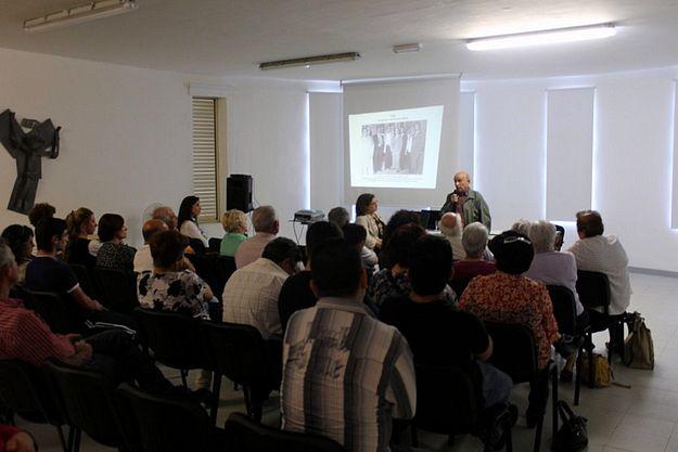 Gozitan visual artist Joseph Calleja talks on 'My Life in Art'