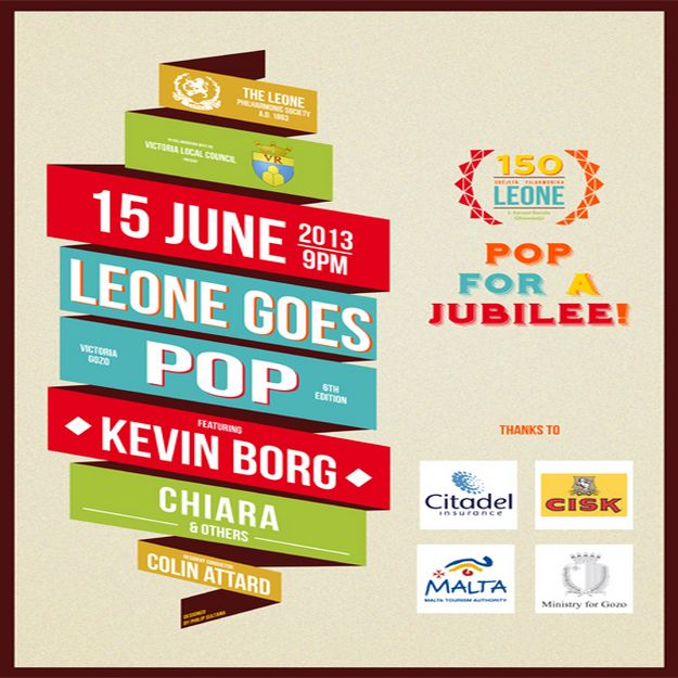 Leone Goes Pop 6th edition - Celebrating 150th anniversary