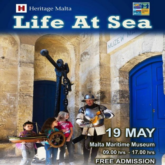 Experience 'Life at Sea' with Heritage Malta this Sunday
