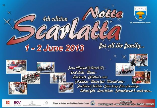 Notte Scarlatta 4th edition this coming weekend in Sannat