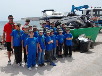 St Thomas' Bay gets pampered for 'Clean up the Med'