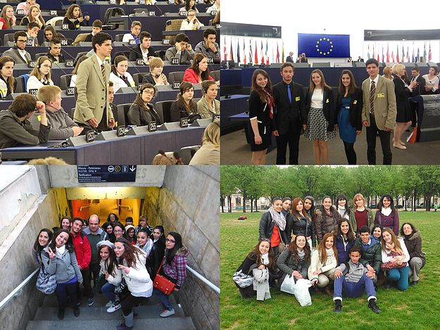 Sir M. A. Refalo 6th formers participate in Euroscola Day