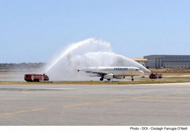 Turkish Airlines inaugural flight arrives at MIA this afternoon