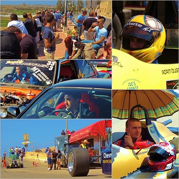 Xaghra annual hill climb races organised by the Island Car Club