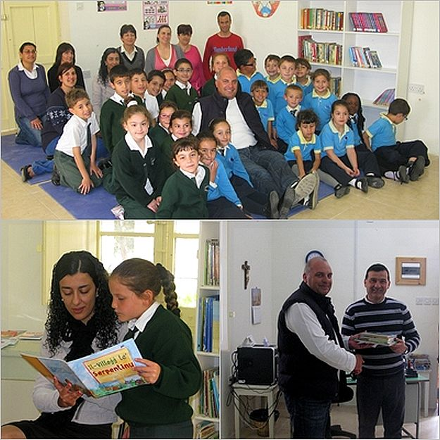 Gozo College Xewkija Primary celebrates 'World Book Day'