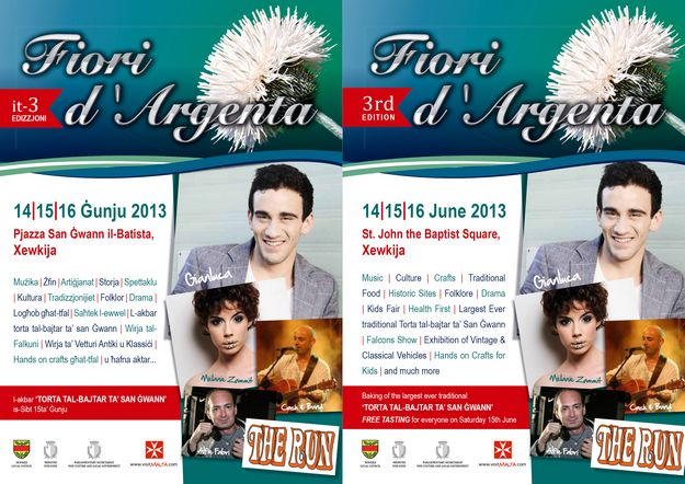 Fiori D'Argenta, a festival of culture & traditions in Xewkija