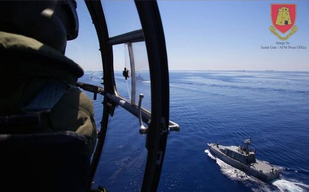 Maltese-Italian aero-naval exercise 'Canale 13' underway