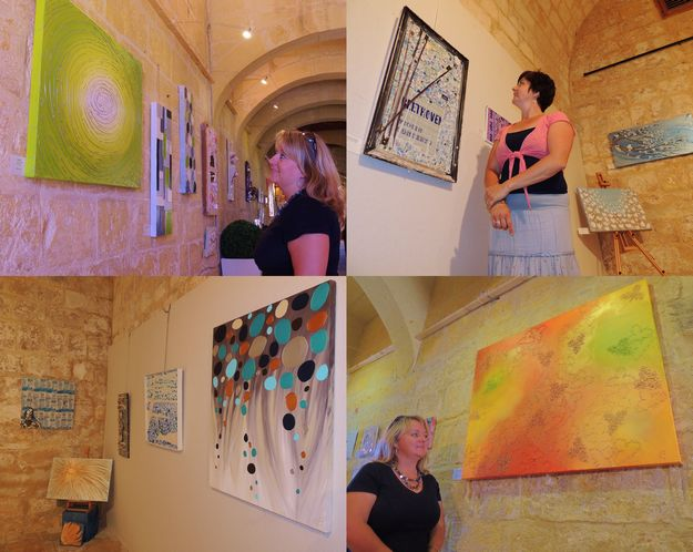 3 Themes, 2 Artists , 1 Location - Joint Gozo art exhibition