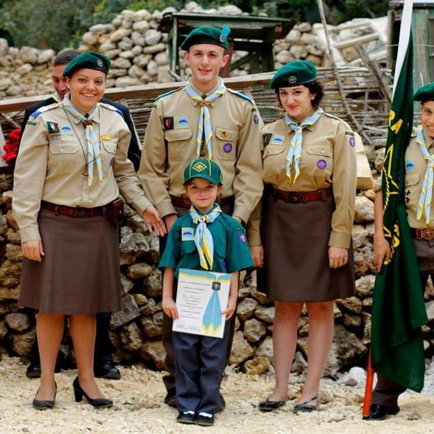 Xaghra Scout Group enjoy the 5th Anniversary celebrations