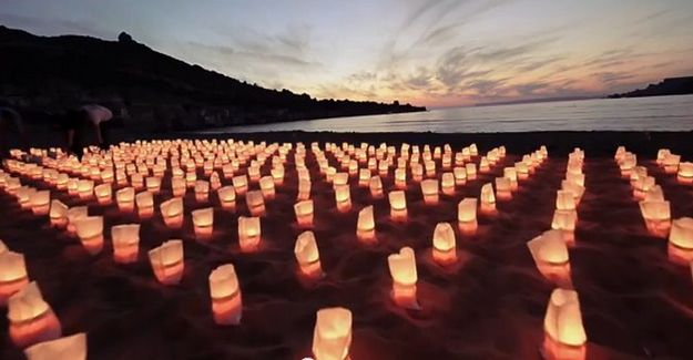 Air Malta lights up Gnejna bay with candles in new video clip