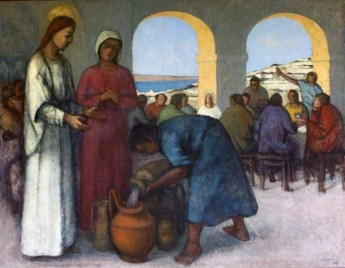 'Marriage at Cana' by George Fenech donated to Ta' Pinu