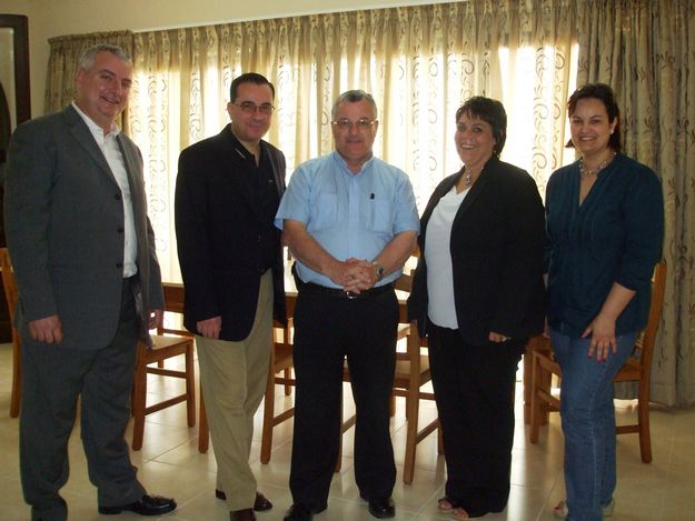 MEP discusses social issues with Gozo Bishop & Dar Emmaus