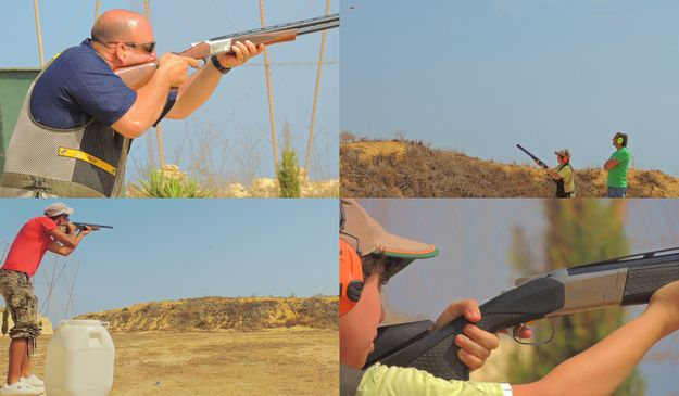 Clay pigeon shoot organised by the Zebbug Band Club Gozo