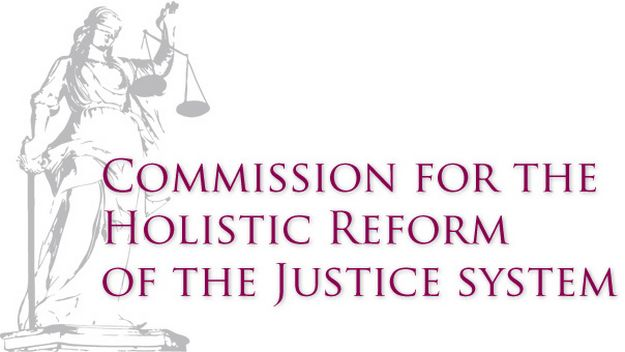 First document published for Reform of the Justice System