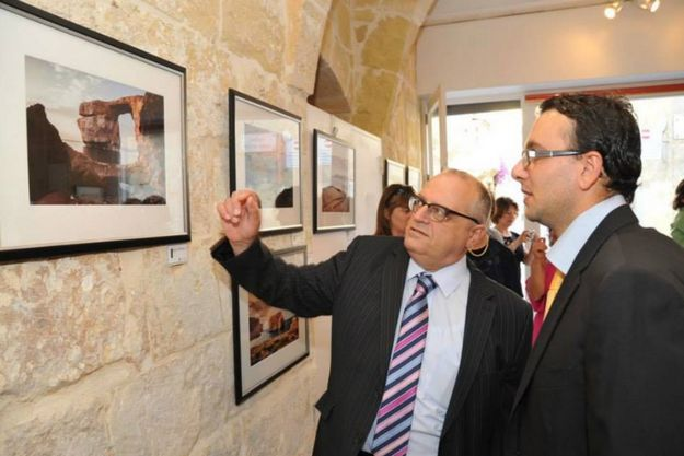 Photographic exhibition by Mario Saliba inaugurated in Gozo