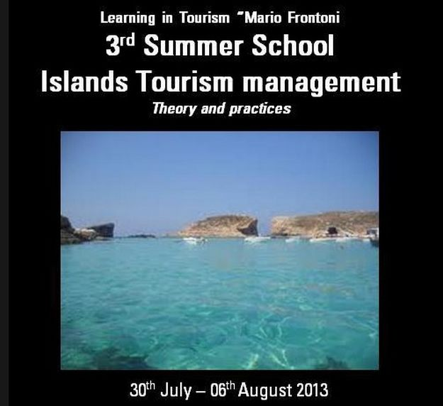 'Islands Tourism Management' - OTIE Gozo Summer School