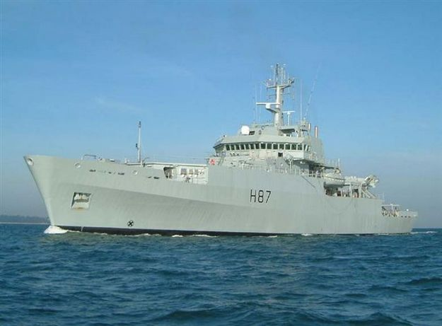 HMS Echo open to visitors this coming Friday at Pinto Wharf