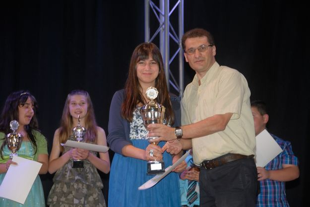 Jolene Samhan is overall winner of the Nadur Song Festival