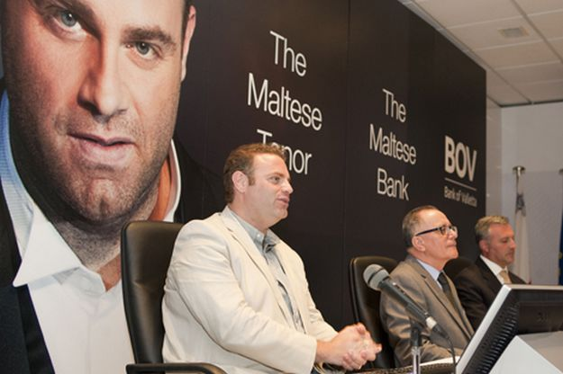 Joseph Calleja endorses BOV and sets up joint Foundation