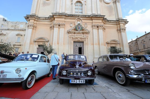 Mdina Concours d'Elegance 2013 taking place in October