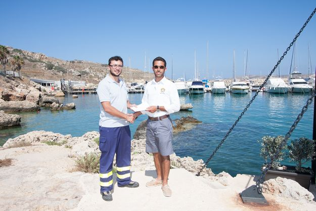 Mgarr Marina Gozo sponsors ERRC berth for 'Lifesaver 1'