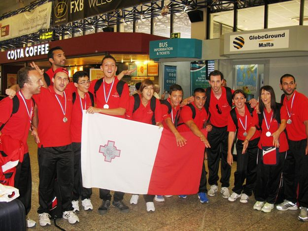 Special Olympics Malta Team returns triumphantly to Malta