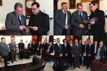 Speaker of the House welcomes a delegation from Gozo