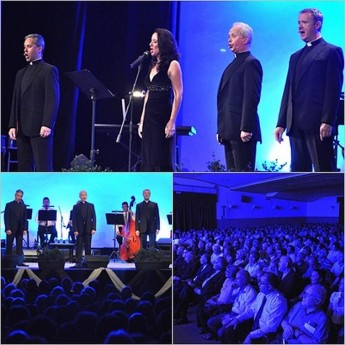 The Priests in concert enthralls a large audience in Floriana