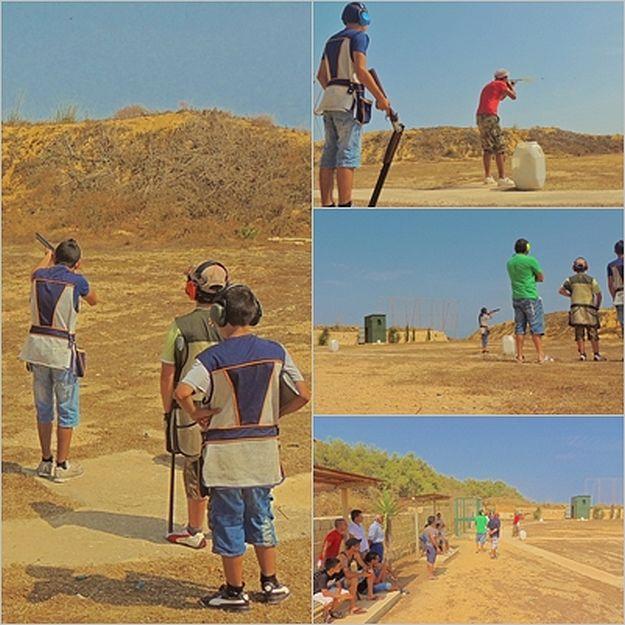 Clay pigeon shoot organised by the Zebbug Band Club Gozo