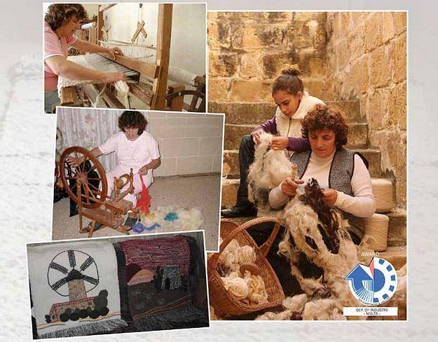 Gozo Weaving with Alda Bugeja at Ir-Rokna tal-Kreattività