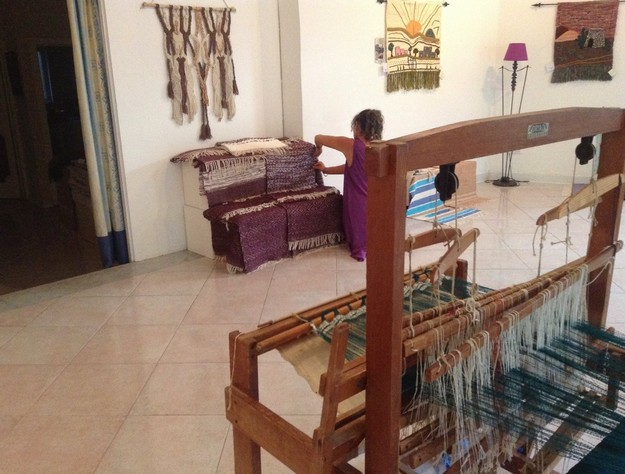Gozo Weaving demonstration in Gharb with Alda Bugeja