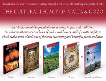 'The Village Feast' cultural book available for sale in Gozo