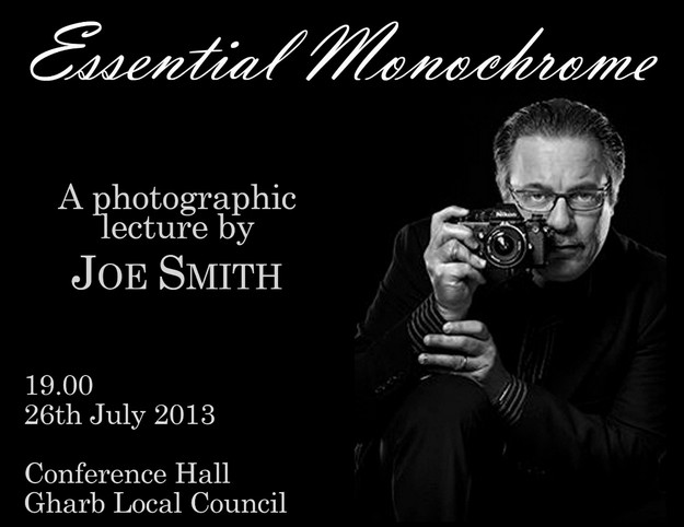 'Essential Monochrome' - A talk by photographer Joe Smith