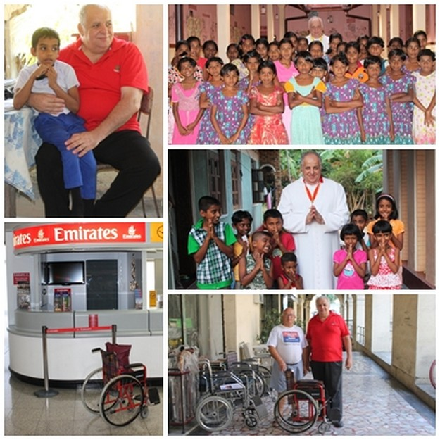 Gozitan missionary priest Fr Anthony Zammit visits Sri Lanka
