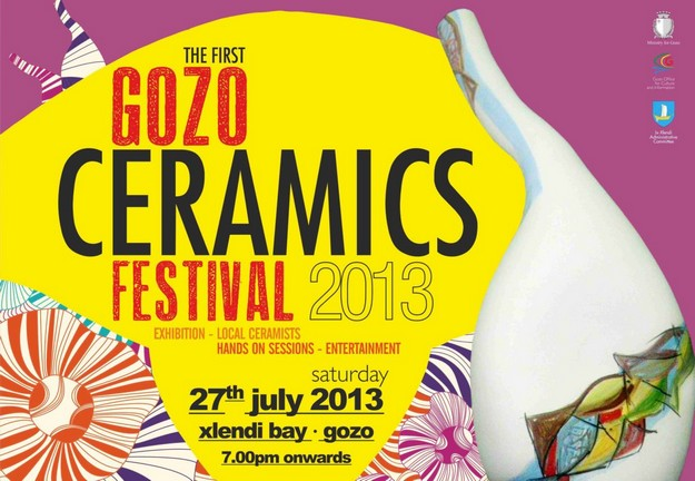 Gozo Ceramics Festival 1st edition taking place at Xlendi