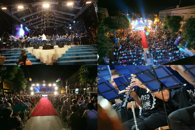 Leone Band's 150th anniversary celebrations in Marsalforn