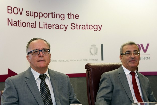 BOV and Education Ministry join forces to combat illiteracy
