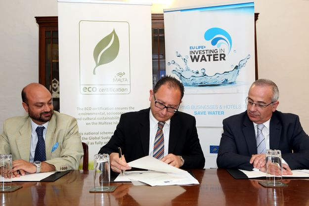 ECO-Certification recognises Investing in Water Project