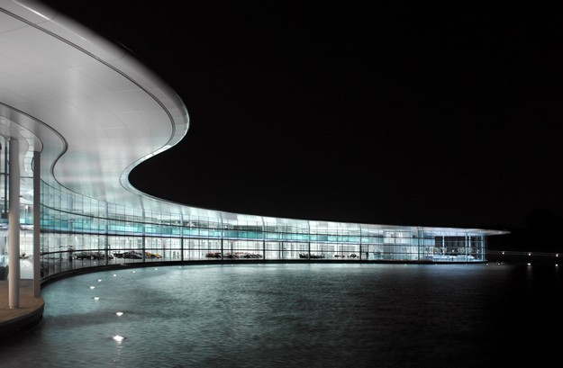 Win a trip to the McLaren Technology Centre with Vodafone