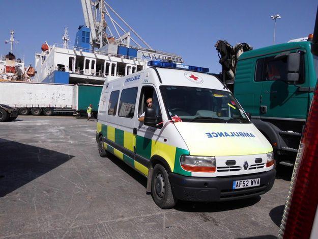 British Red Cross donates ambulance to Malta Red Cross