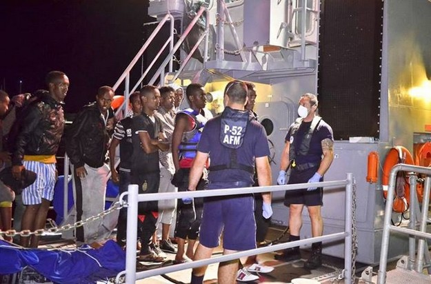 AFM rescues 112 migrants including women and children