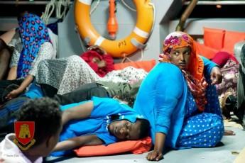 AFM rescues 68 irregular migrants including 13 females